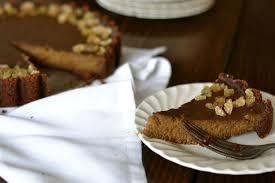 Pumpkin Pie With Molasses Martha Stewart by Pumpkin Bourbon Tart With Gingersnap Crust