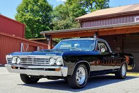 100 El Camino Truck 1967 Chevrolet AllSteel Coupe Original Restored V8