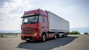 100 Mercedes Semi Truck New Actros Ditches Conventional Mirrors For Cameras