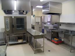 attractive commercial kitchen lighting requirements in interior