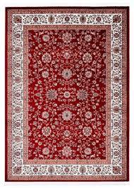 casa padrino wohnzimmer teppich mit orientalischen ornamenten rot mehrfarbig verschiedene größen