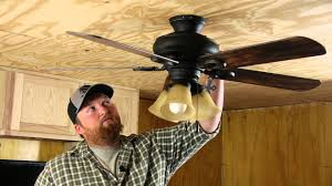 how to tighten a loose ceiling fan ceiling fan repair youtube