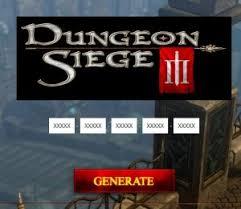 dungeon siege 3 codes dungeon siege 3 cdkey generator generate serial key serial key
