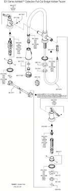 Price Pfister Faucet Parts Diagram Faucets Kitchen Shelton