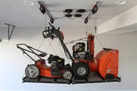 Garage Ceiling Kayak Hoist by The World U0027s First Smart Hoist Makes Overhead Garage Storage Super