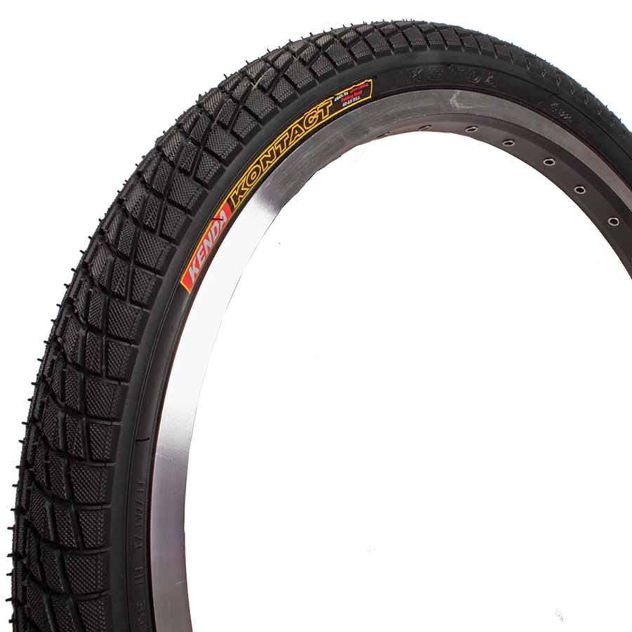 Kenda Kontact K841 Bicycle Tire - 20 x 1.95, Black