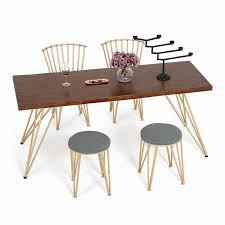 freizeit massivholz esstisch stuhl set esszimmer stuhl freizeit sitz milch esstisch bar tisch und stuhl hause stühle