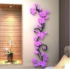 Wall Decoration With Paper Craft Ideas Simple Creative Idea From Waste Border