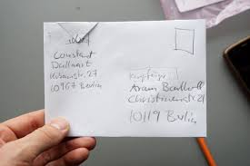 POST HACK or How To Send A Letter For Free at Aram Bartholl