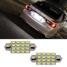 16 smd 6418 led bulbs for ford mustang focus license plate lights