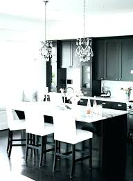photo de cuisine design chaise haute design cuisine table bar blanche bar de cuisine design