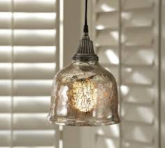 Pottery Barn Outdoor Ceiling Light by Unique Mercury Glass Pendant Light Fixtures 39 About Remodel Led
