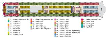 Carnival Splendor Deck Plans by Carnival Splendor