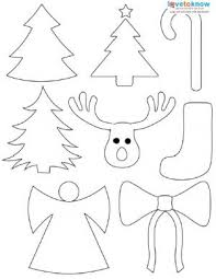 Free Christmas Shape Printable