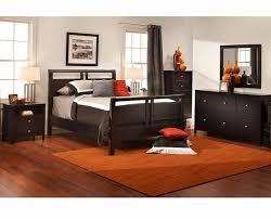 hero panel bed modern bedroom denver by furniture row