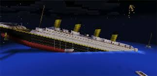 image gallery of minecraft titanic sinking map