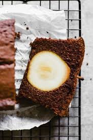 schoko haselnuss kuchen mit birnen glutenfrei