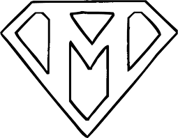 Easy To Color Letter M Coloring Page Pages