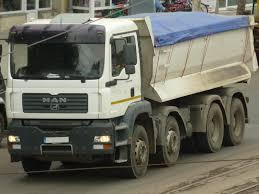 Truck Spotting: MAN TGA 41.440 8x4 Dump Truck