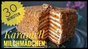 karamell milchmädchen torte in 30 minuten fertig einfache zubereitung