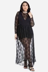 size nana lace maxi dress fashion figure