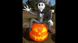 Halloween Blow Up Decorations For The Yard nightmare before christmas halloween decorations october 2015