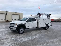 100 Ford Service Truck 2018 F550 Unused Red Ram Sales Ltd Edmonton