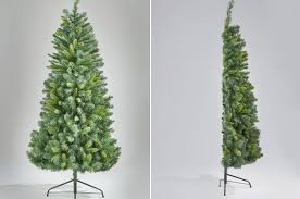 This Half Christmas Tree Is Absurd Genius