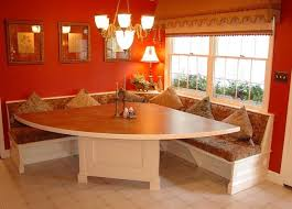 Corner Booth Kitchen Table With Storage Traditional Dining