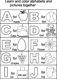 Free Alphabet Worksheets For Kindergarten Pdf 11