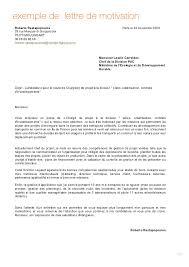 Lettre De Motivation Promotion Interne Lettres Modeles En Lettre De Motivation Promotion Interne Lettres Modeles En Francais