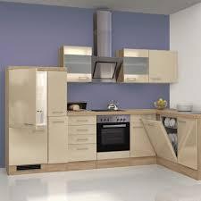 küchen eckunterschrank nepal 1 türig 110 cm breit creme glänzend