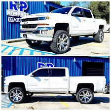 100 456 Chevy Trucks Rim Pros Of Lafayette New Silverado 1500 With A 75 Lift And 24