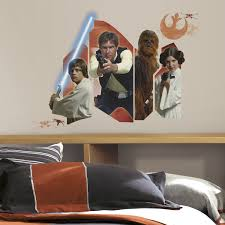 Wall Decor Stickers Walmart Canada by Roommates Star Wars Classic Burst Giant Wall Decals Walmart Canada