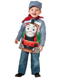 Thomas The Tank Deluxe James Train & Engineer Boys Costume - Boys ...