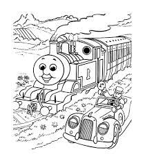 Coloriage Train Vermandois à Imprimer Pour Les Enfants Dessin