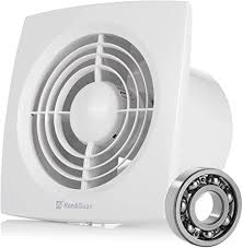 hon guan ø150mm badlüfter silent mit 272m h effiziente lüftung abluftventilator für badezimmer schlafzimmer büro d 150mm
