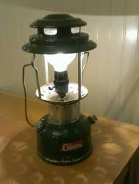 vintage coleman lantern l industrial upcycled reclaimed