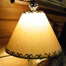 Lamp Harp Saddle Adapter by Rustic Lamp Shades Aunt Debbie U0027s Country Store