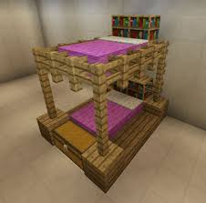 Minecraft Kitchen Ideas Xbox by Minecraft Bunkbeds If You Like This Picture Click On It To Take