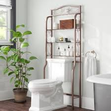 Zula Space Saver Free Standing 2725 W X 665 H Over The Toilet Storage