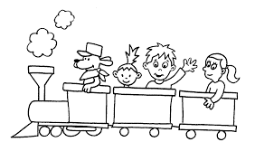 Train Coloring Pages Good Printable