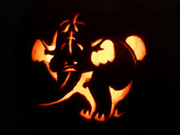 Elephant Pumpkin Carving Pattern Easy by Elephant Pumpkin Images Reverse Search
