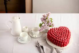 Gourmet Chocolate Raspberry Heart Cake