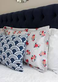 Home Decor Sewing School How to Make a Pillow Sham