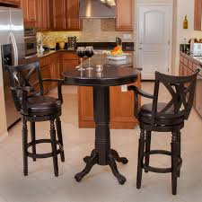Small Bistro Table Set Pub Style And Chairs For Round White ...