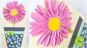 FLORAL Birthday Flowers Card Design Ideas DIY 3d Handmade Cards For Tutorial Step By
