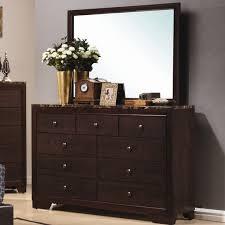 Hayworth Mirrored 3 Drawer Dresser by Wildon Home Annetta South 9 Drawer Dresser With Mirror