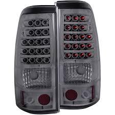 anzo usa chevy silverado 1500 2500 03 06 l e d lights smoke