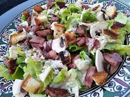 cuisiner les gesiers recette de salade de gesier de volaille sauce roquefort